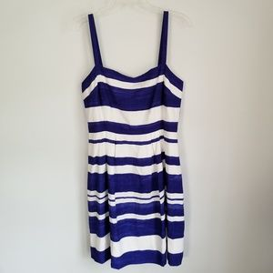 New With Tag Loft Ann Taylor Stripe 10 *Light Mark